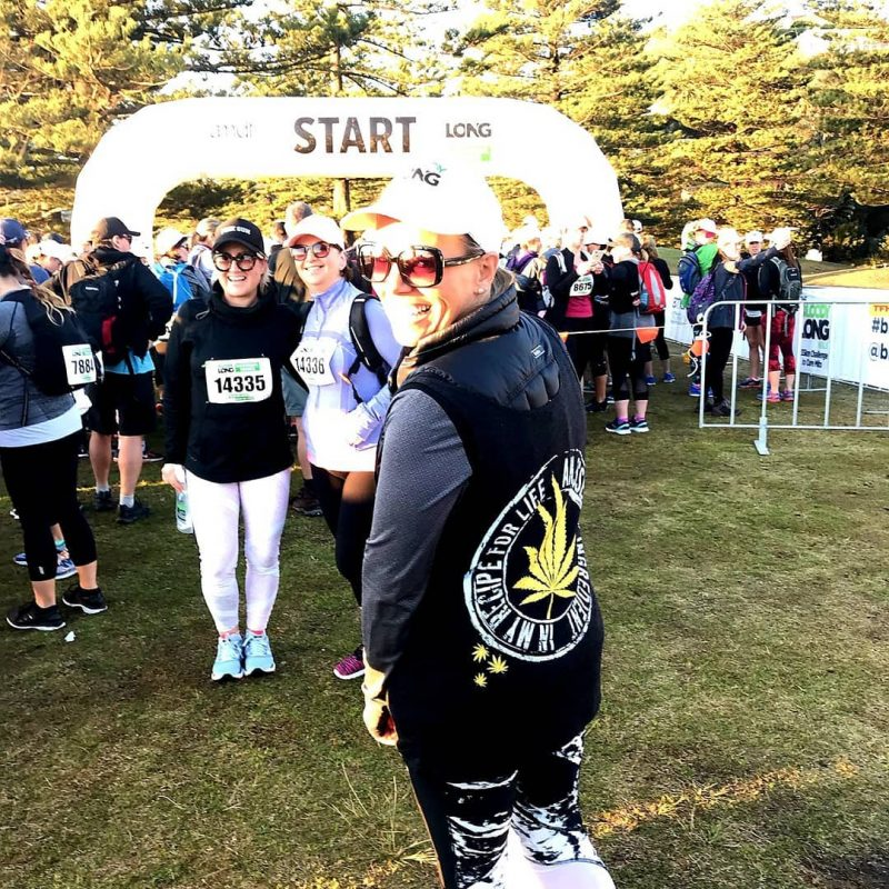Empower Your Odyssey t-shirt down under at The Bloody Long Walk event in Australian