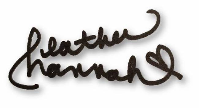 Heather and Hannah Signature