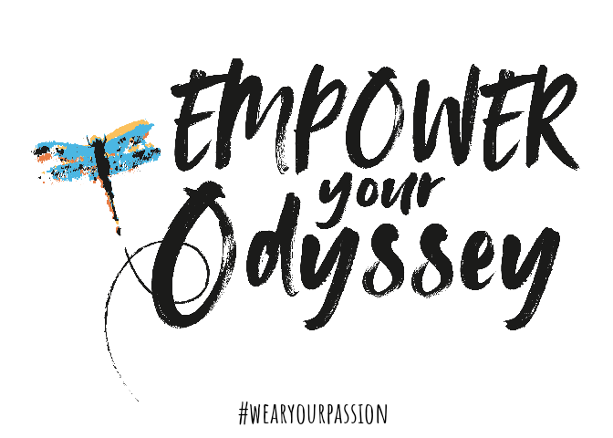 Empower Your Odyssey logo with #WearYourPassion Hashtag